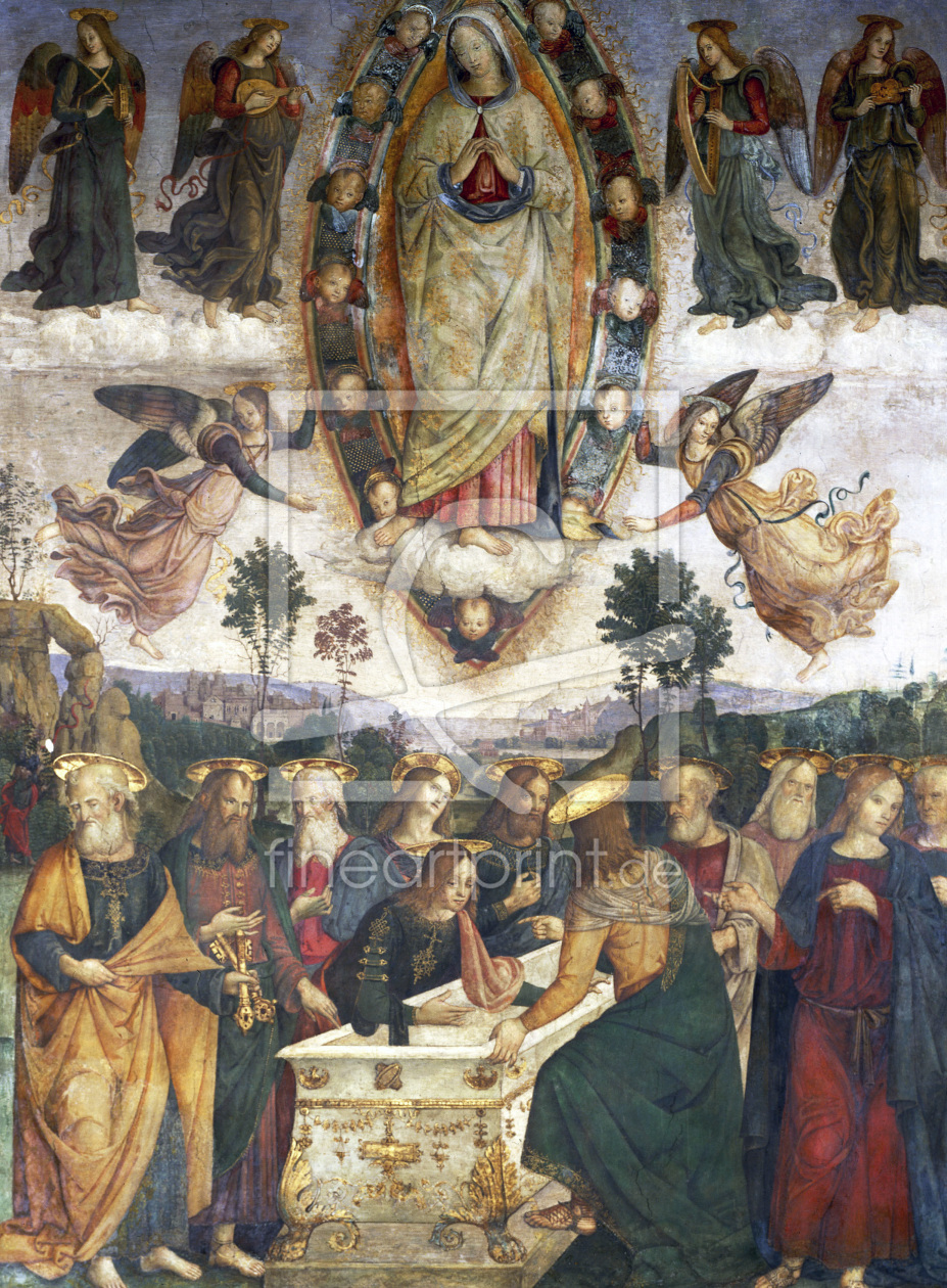 Bild-Nr.: 30008209 Pinturicchio / Ascension of Mary erstellt von Pinturicchio, Bernadino di Betto di Biagio