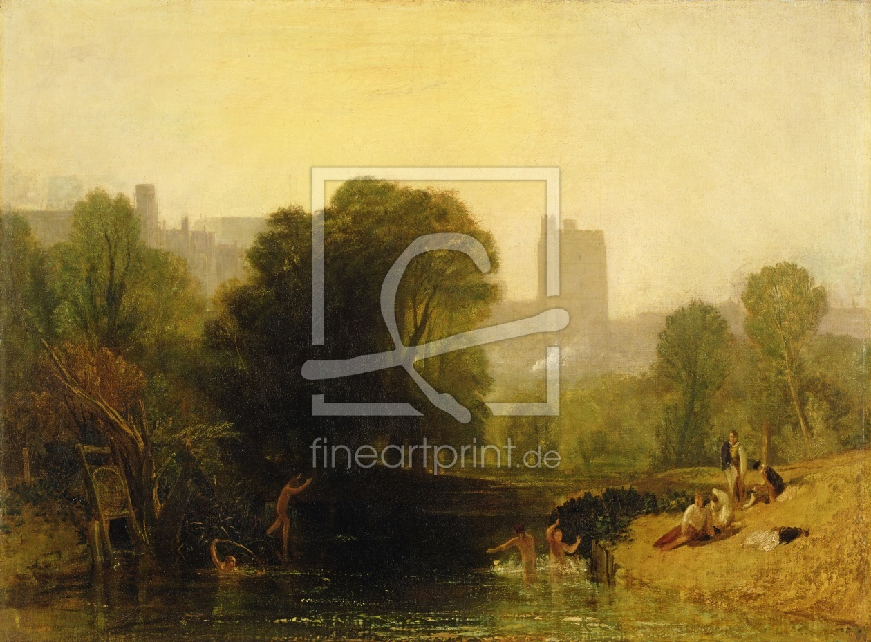 Bild-Nr.: 31001267 Near the Thames Lock, Windsor, c.1809 erstellt von Turner, Joseph Mallord William