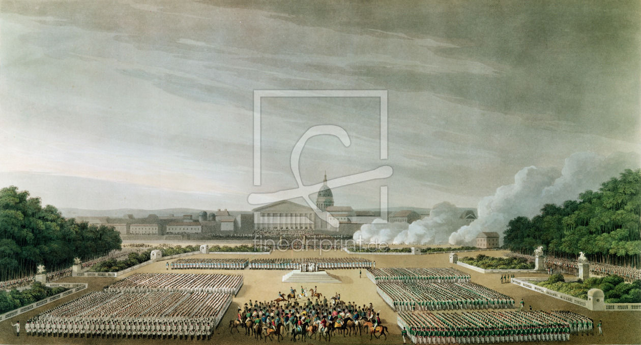 Bild-Nr.: 31002031 Ceremony of the Te Deum by the Allied Armies in Louis XV Square, Paris, on 10th  erstellt von Anonyme Künstler