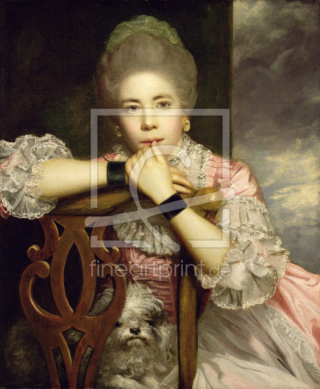 Bild-Nr.: 31002234 Mrs Abington as Miss Prue in Congreve's 'Love for Love,' 1771 erstellt von Reynolds, Sir Joshua