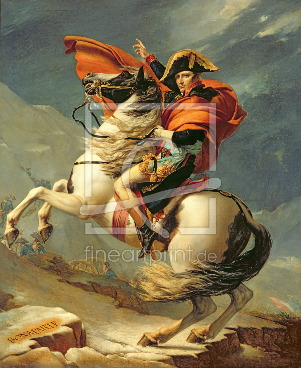 Bild-Nr.: 31002552 Napoleon Crossing the Alps on 20th May 1800, 1803 erstellt von David, Jacques Louis
