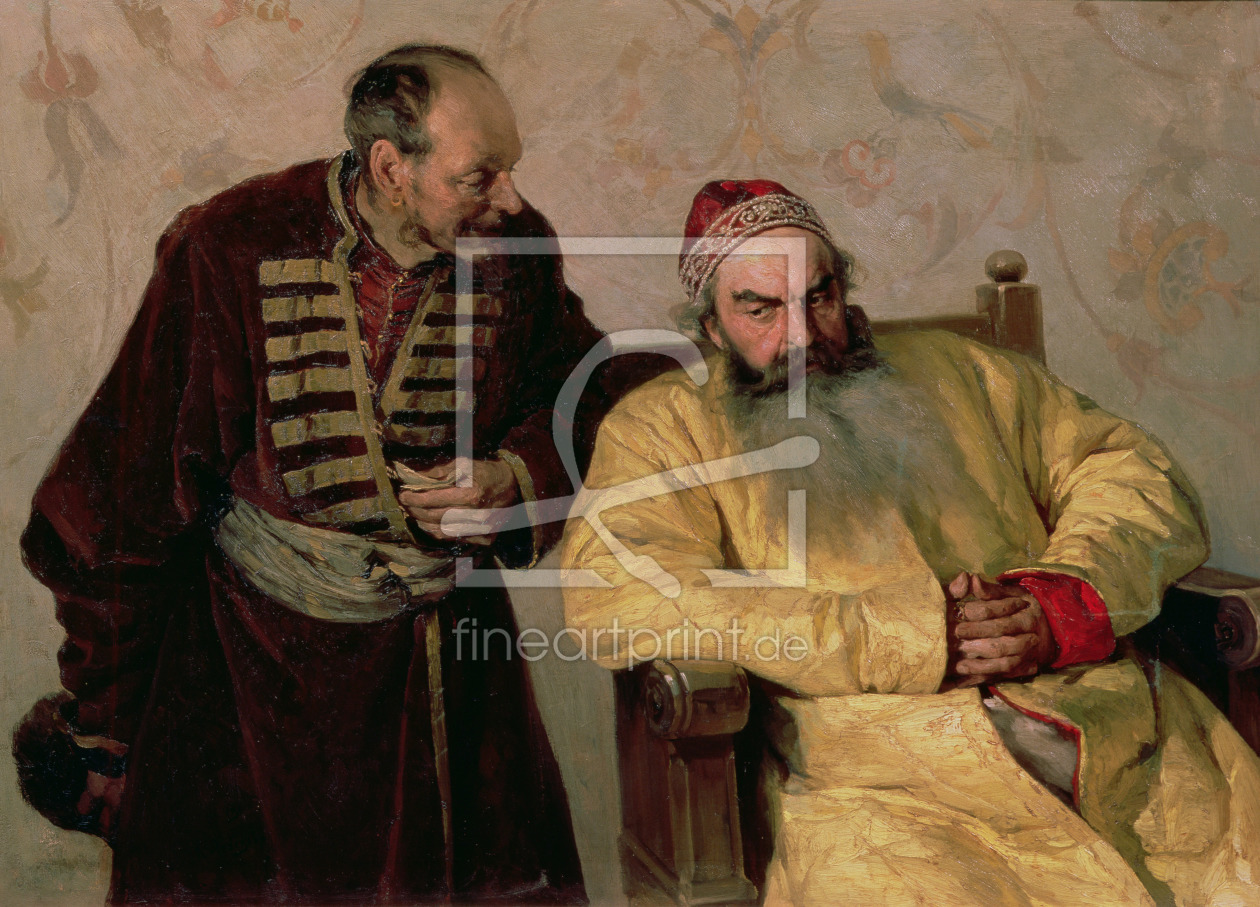Bild-Nr.: 31002669 To the Boyar with a Denunciation, 1904 erstellt von Lebedev, Klavdiy Vasilievich