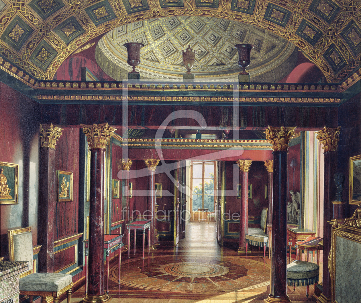 Bild-Nr.: 31002719 The Agate Room in the Catherine Palace at Tsarskoye Selo, 1859 erstellt von
