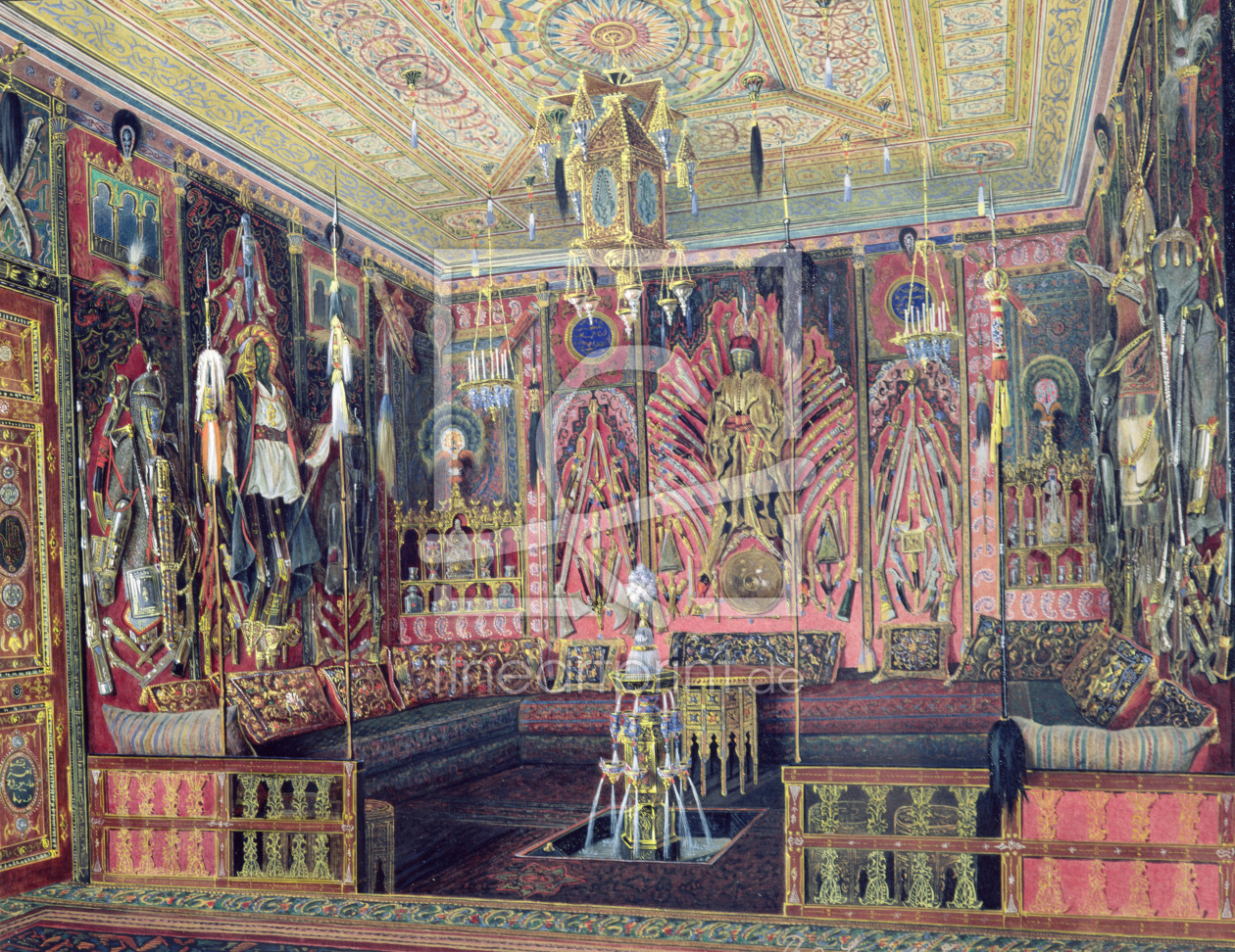 Bild-Nr.: 31002720 The Arabian Hall in the Catherine Palace at Tsarskoye Selo, c.1850 erstellt von
