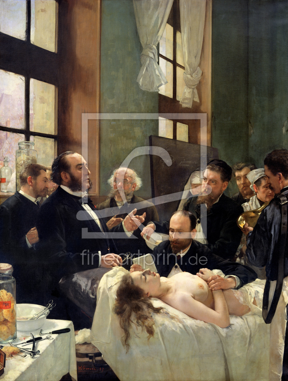 Bild-Nr.: 31002725 Before the Operation, or Doctor Pean teaching at Saint-Louis hospital, 1887 erstellt von