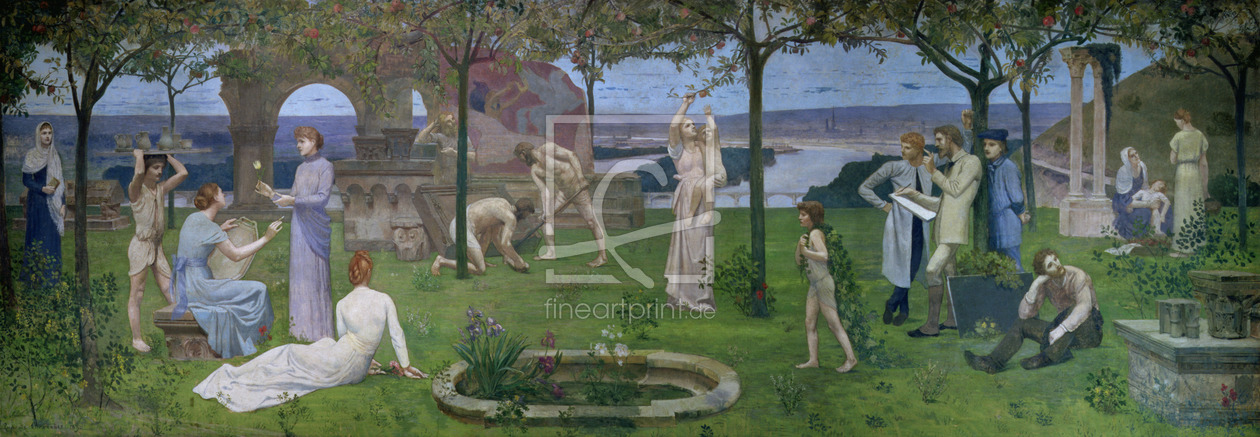 Bild-Nr.: 31002741 Between Art and Nature, 1890 erstellt von Puvis de Chavannes, Pierre