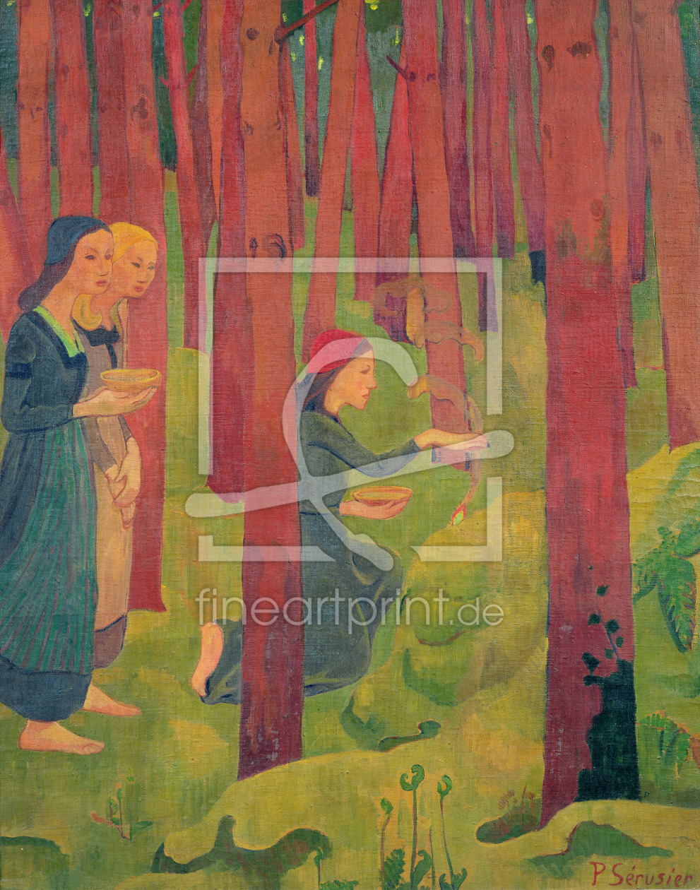 Bild-Nr.: 31002772 The Incantation, or The Holy Wood, 1891 erstellt von Serusier, Paul