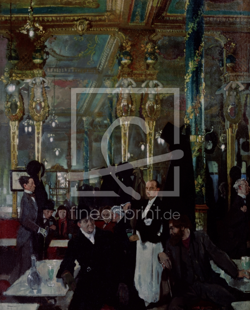 Bild-Nr.: 31002787 Cafe Royal, London, 1912 erstellt von Orpen, Sir William