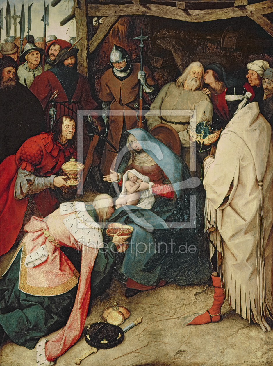 Bild-Nr.: 31002827 The Adoration of the Kings, 1564 erstellt von Bruegel, Pieter the Elder