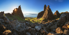 Schottland Old Man of Storr Sonnenaufgang Panorama/12000563